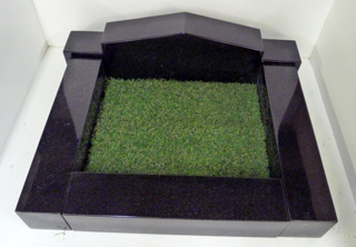Kerb Set with Artificial Grass